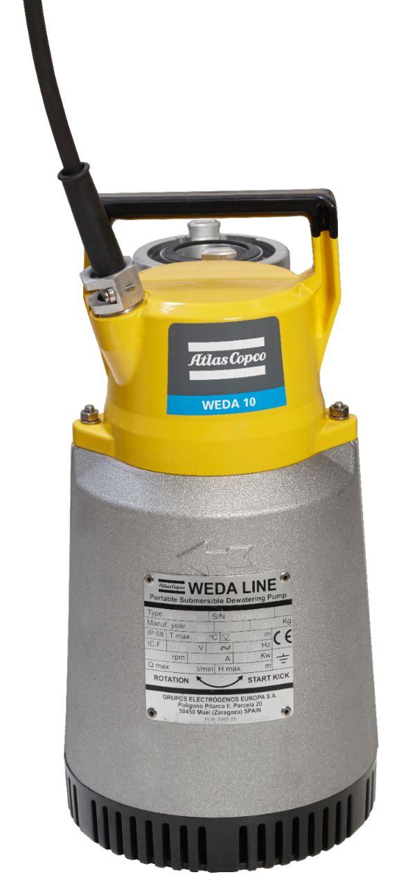 WEDA 10 dewatering pump